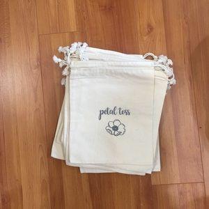 Other - Petal toss muslin drawstring bags (20)